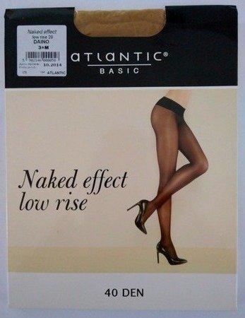 BLT-002 Rajstopy Naked Effect Low Rise  (40 DEN) Daino