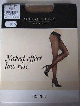 BLT-002 Rajstopy Naked Effect Low Rise  (40 DEN) Glace