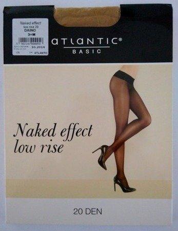 BLT-001 Rajstopy Naked Effect Low Rise  (20 DEN) Daino