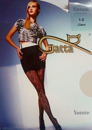 Rajstopy Gatta Rete Fantasia 1-2 Ciaro Yasmine 01